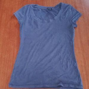 Willi smith blue blouse L